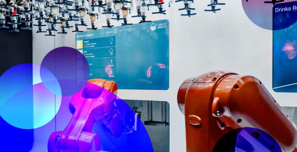 Area4: The robots
