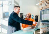 sales person business development ai robots