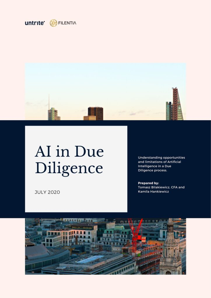Due Diligence Artificial Intelligence Whitepaper